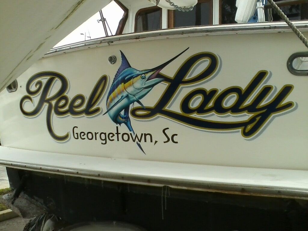 Boat lettering stipes inc for Boat lettering styles